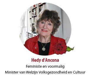 Hedy d'Ancona, Feministe en voormalig Minister van Welzijn Volksgezondheid en Cultuur