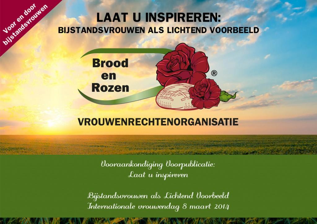 Inspirerende ansichtkaarten van Brood en Rozen