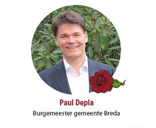 Paul Depla burgemeester gemeente Breda